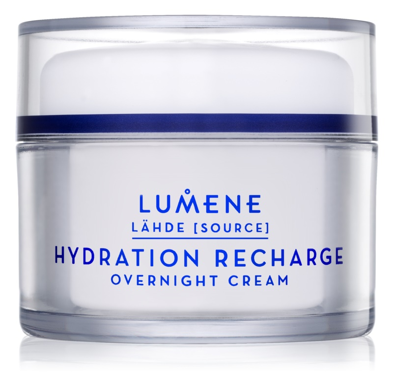 Lumene Lähde [Source of Hydratation] creme noturno hidratante